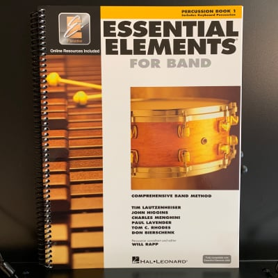 Essential Elements For Band Percussion Book 1
