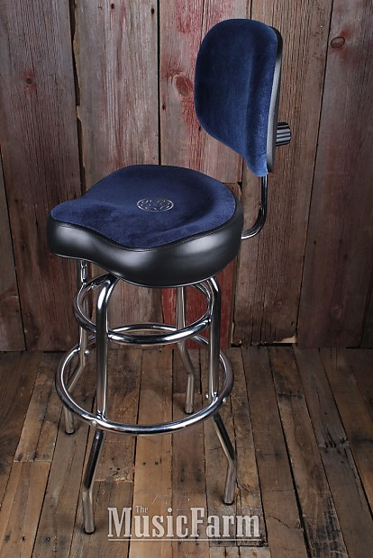 Roc N Soc Tall 29 Inch Tower Saddle Stool With Adjustable
