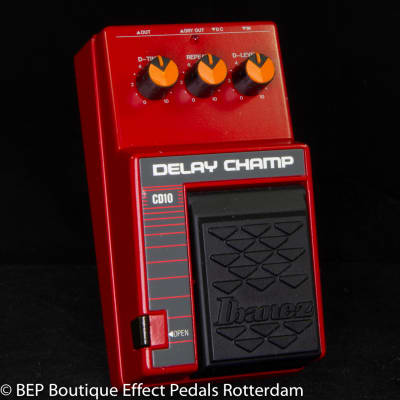 Ibanez CD10 Delay Champ s/n 158776 Japan, Analog Delay with MN3205 BBD and MN3102 Clockdriver