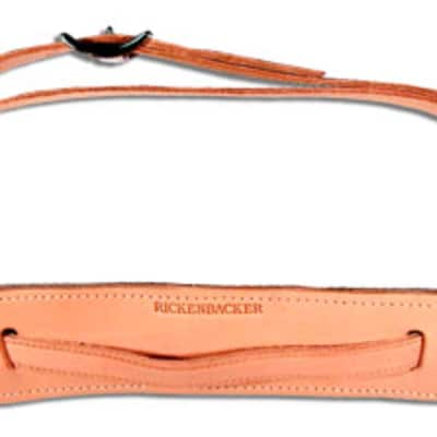 Rickenbacker 97102 Vintage Leather Blonde Guitar Strap