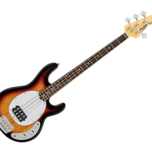 Sterling by Music Man Ray24CA Bass Guitar - 3-Tone Sunburst/Rosewood - RAY24CA-3TS-R1 for sale