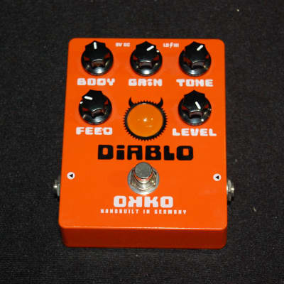 OKKO Diablo Overdrive Distortion Boost Guitar Pedal Germany
