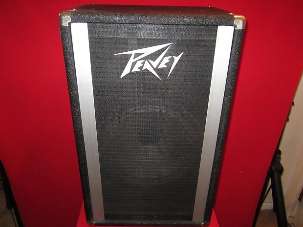 Vintage Peavey 215d Bw 2x15 Bass Speaker Cabinet Reverb