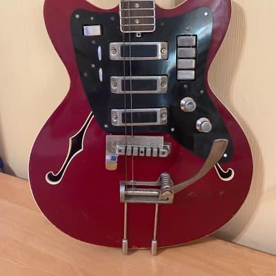 Jolana Tornado Czechoslovakian Vintage Electric Guitar for sale