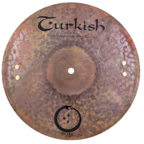 """Turkish Cymbals 14"""" Soundscape Series Jarrod Cagwin Snake Hi-Hat SN-H14 (Pair)"""