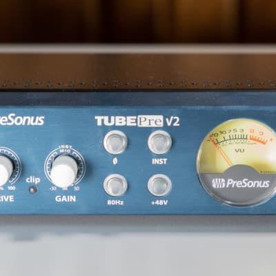 PreSonus TubePre V2 Mono Tube Preamp mid 2000's Blue/Silver