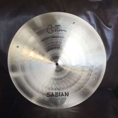 Sabian Custom Shop Flat Bell Ride w 3 Rivets