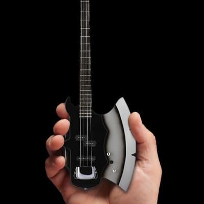 Axe Heaven Officially Licensed KISS Gene Simmons Signature AXE Bass Mini Guitar Model 2019