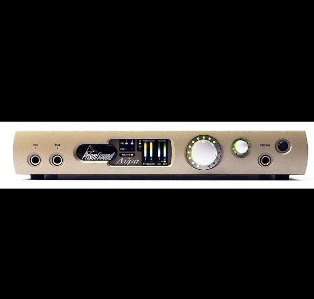 Prism Sound Lyra II Mastering Grade DAW Interface (open box) Ships from  California