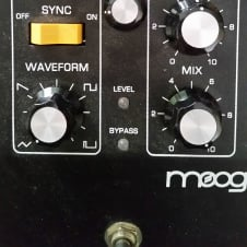 Moog MF-107 Moogerfooger Freqbox Black Synth Pedal