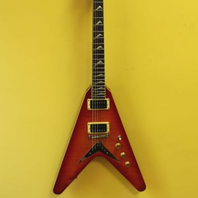 Hamer VECF The Vector Flying V with Seymour Duncan Vintage Blues Set for sale