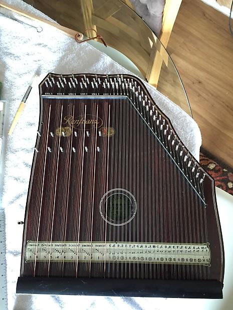 german renfranz piano harp 1928 zither family reverb