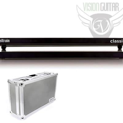 "NEW! PedalTrain CLASSIC 2 Medium Size Pedalboard With Tour Case (24"" x 12.5"")"