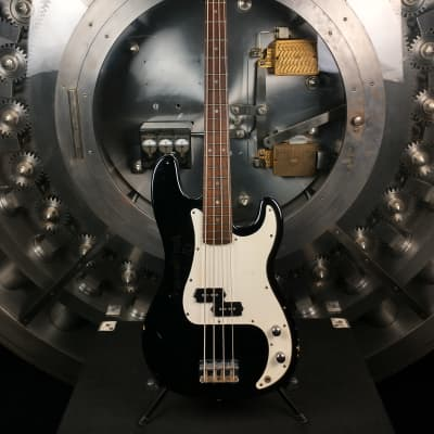 Regal Bass Guitar Black 4 String for sale