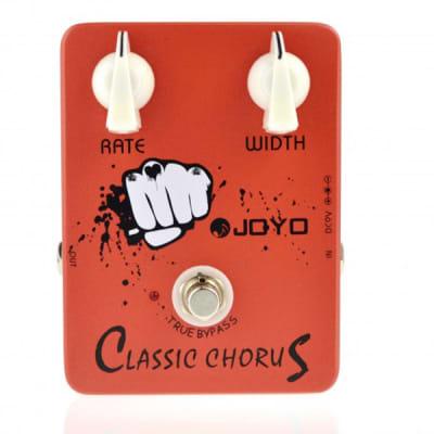 JOYO JF-05 Classic Chorus True Bypass Modulation Guitar Effects Pedal for sale