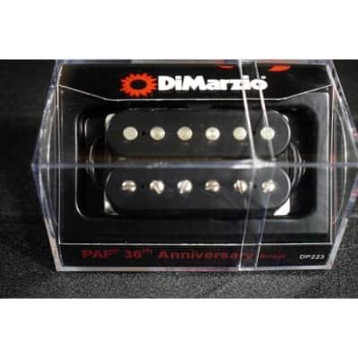 DiMarzio DP223 PAF 36th Anniversary Bridge Humbucker Pickup DP223BK Black