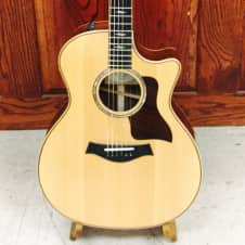 Taylor 814ce 2015  Acoustic Electric 6-String Guitar Natural image