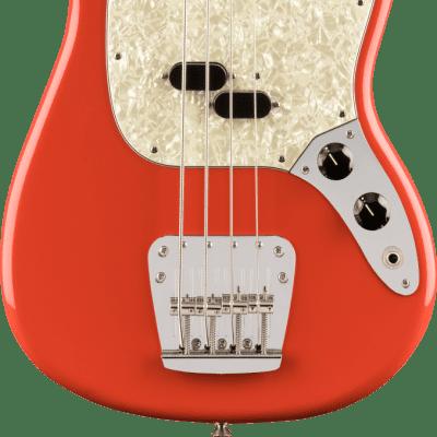 Fender Vintera '60s Mustang Bass PF Fiesta Red