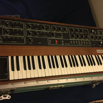 Incredible Sequential Circuits Prophet 5 Rev 3.3 1982 Walnut and Black LOTS OF PHOTOS