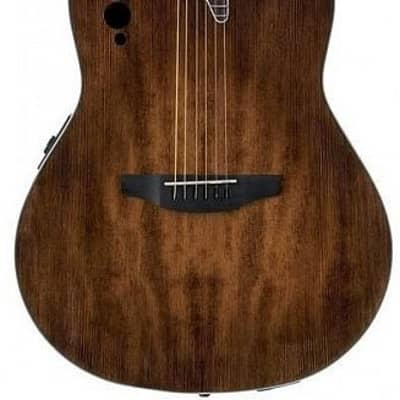 Ovation AE44-7S Applause Elite 6-Sting RH Acoustic Electric Guitar-Satin Vintage Varnish ae-44-7-s