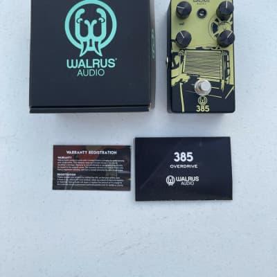 Walrus Audio 385 Overdrive Guitar Effect Pedal + Original Box