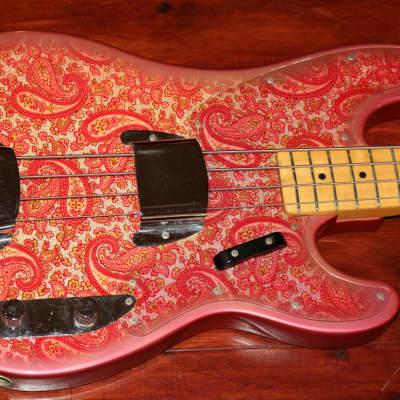 1968 Fender Paisley Telecaster Bass for sale