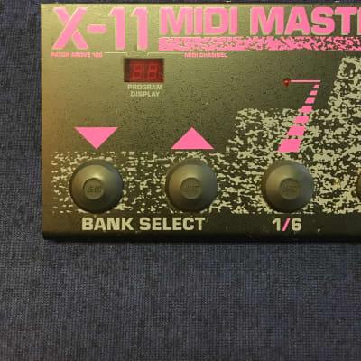 ART X-11 MIDI Mastercontrol  Black and pink for sale