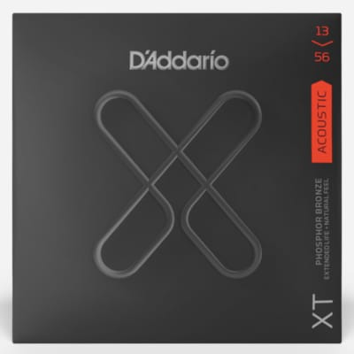 D'Addario XTAPB1356 XT Phosphor Bronze Acoustic Guitar Strings -.013-.056 Medium