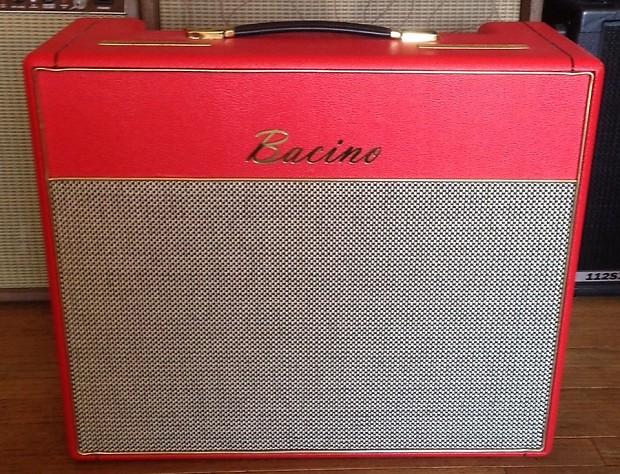 bacino amplifier 18 watt bac18 1x12 combo in red very reverb. Black Bedroom Furniture Sets. Home Design Ideas