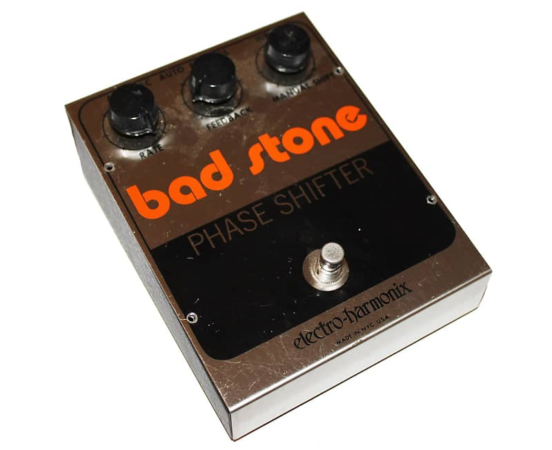 electro harmonix vintage 1978 bad stone phaser guitar effects reverb. Black Bedroom Furniture Sets. Home Design Ideas