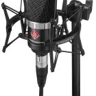 Neumann TLM 102 MT Studio Set - Includes Shockmount - Black - B-Stock image