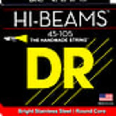 DR Hi-Beam bass guitar strings, Lite, 4 string, .040-.100