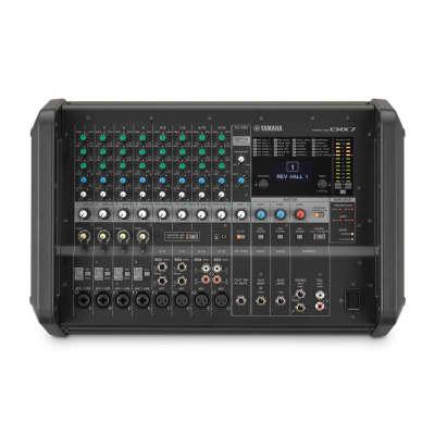 Yamaha EMX7 12 Input Powered Mixer w/ Dual 710 Watt Amp