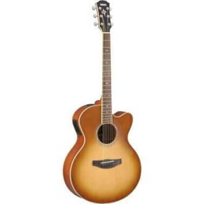 Yamaha CPX700II Solid Top Acoustic/Electric Guitar - Sand Burst for sale