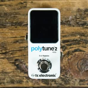 TC Electronic Polytune 2 Mini Poly-Chromatic Tuner Pedal