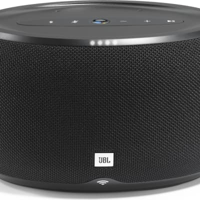 JBL Link 300 Multiroom Wireless Bluetooth Far Field Voice Activated Home Speaker Powered By Google