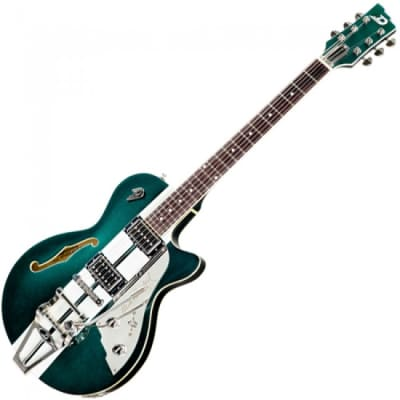 Duesenberg Duesenberg Mike Campbell 40th Anniversary Starplayer w/ Case 2019 Catalina Green for sale