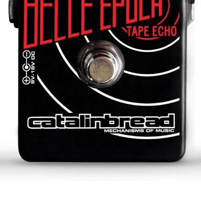 Catalinbread Belle Epoch Black - Licario Limited Edition - EP3 Tape Delay Guitar Pedal