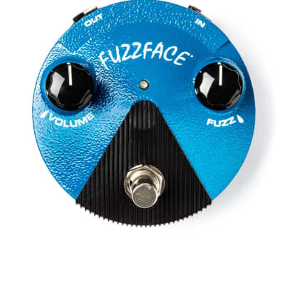 Dunlop FFM1 Silicon Fuzz Face Mini Distortion Pedal for sale