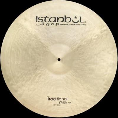 "Istanbul Agop Traditional 22"" Crash Ride 2570 g"