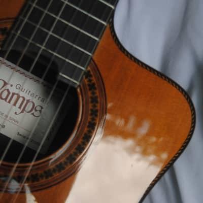 Camps 900C Flex B 2015 Cedar Professional electro-classical guitar. Cutaway Fishman Flex Blend for sale