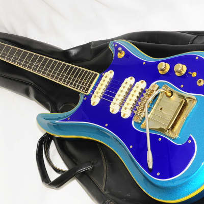 1980s? Guyatone LG-1200 Sharp Five Electric Guitar Ref No 1836 for sale