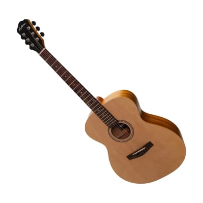 Martinez Small Body Acoustic Guitar Left Handed MF-25L-NST for sale