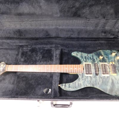 Brian Moore USA Custom Shop C90P/piezo Blue/Green - Free shipping to the lower 48 States ONLY! for sale