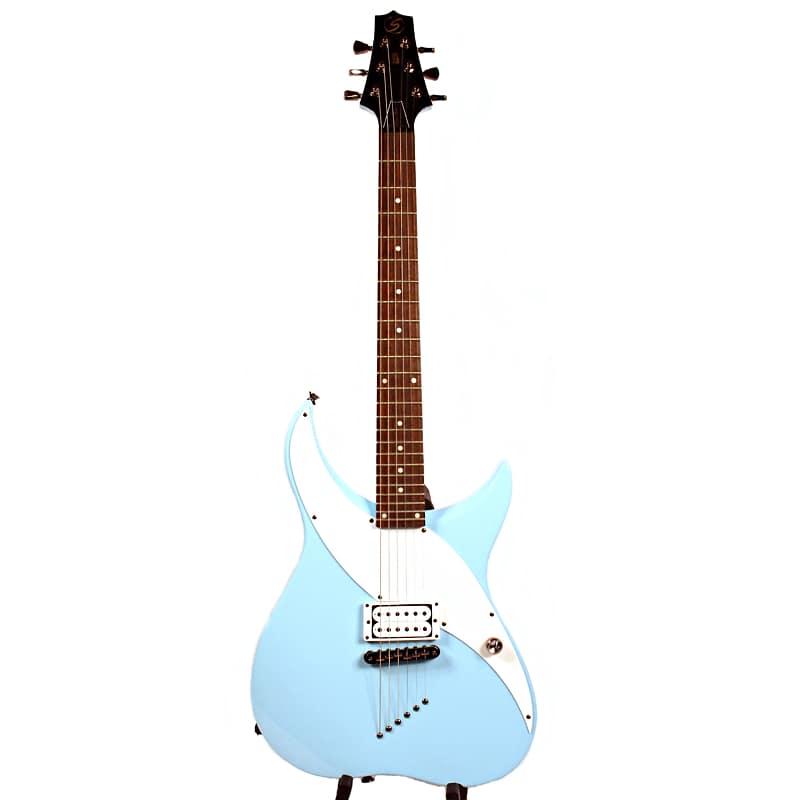 samick retro design electric guitar ra10 baby blue reverb. Black Bedroom Furniture Sets. Home Design Ideas