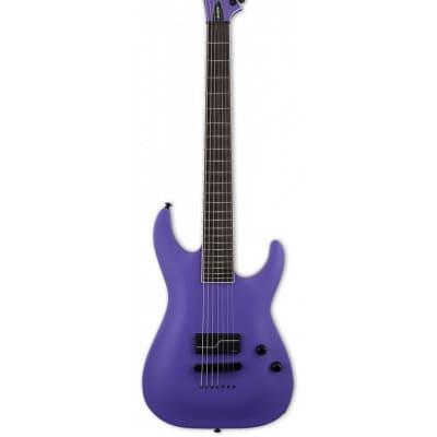ESP LTD SC-607 Baritone 1 Hum Stephen Carpenter Deftones Purple Electric Guitar w/Case for sale