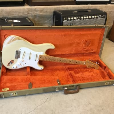 Fender Custom Shop '56 Stratocaster Closet Classic Relic Blonde 2000 for sale