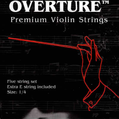 Overture 1/4 Violin Strings