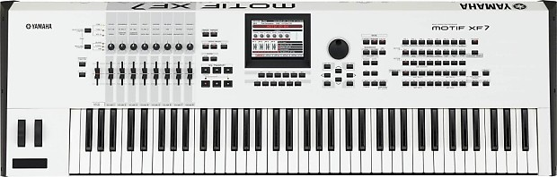 Yamaha motif fx7 40th anniversary special edition 76 key for Yamaha motif sounds download free