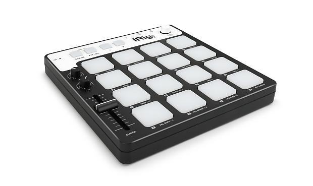 new ik multimedia irig pads midi groove controller for apple reverb. Black Bedroom Furniture Sets. Home Design Ideas